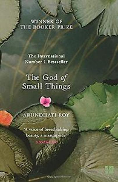 Book cover The God of Small Things