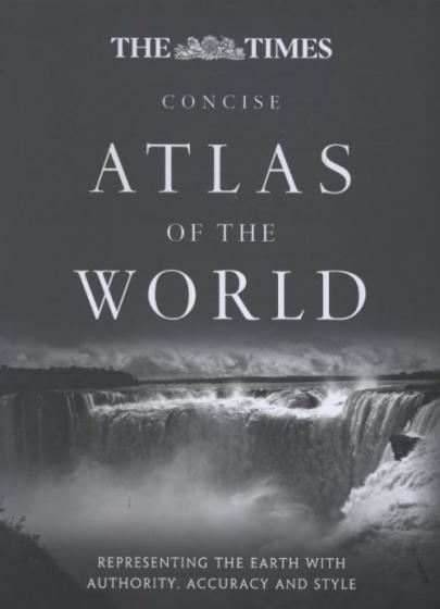 Book cover The Times Atlas of the World