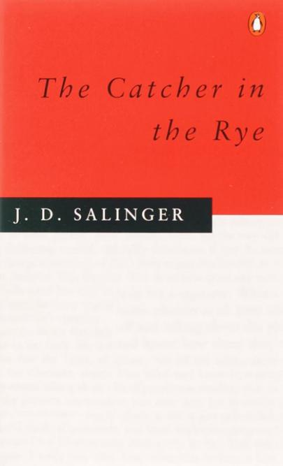 Book cover Catcher in the Rye, The