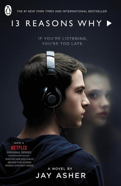 Book cover 13 reasons why