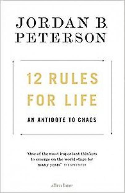 Book cover 12 Rules For Life