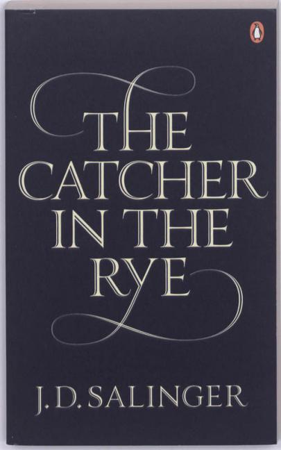 Book cover The catcher in the rye