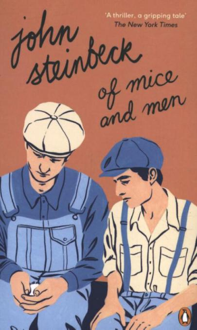 Book cover Of Mice and Men