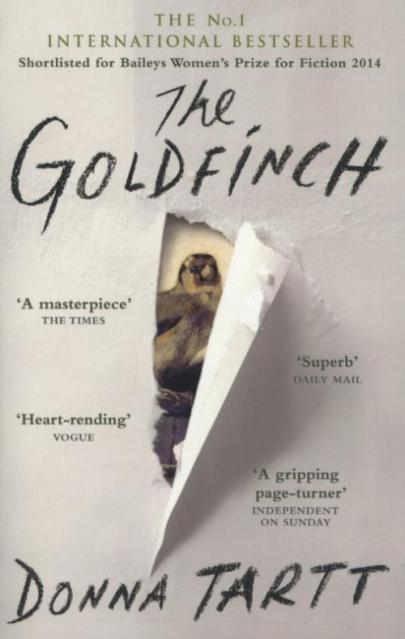 Book cover The Goldfinch