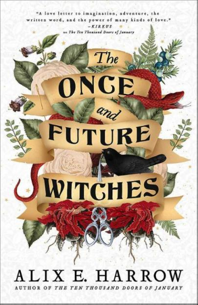 Book cover The Once and Future Witches