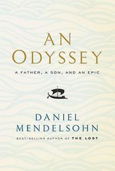 Book cover An Odyssey, A Father a Son and an Epic