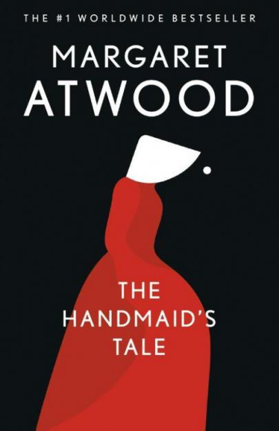 Book cover The Handmaid's Tale