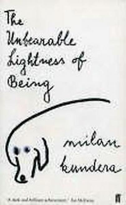 Book cover Unbearable Lightnes of Being