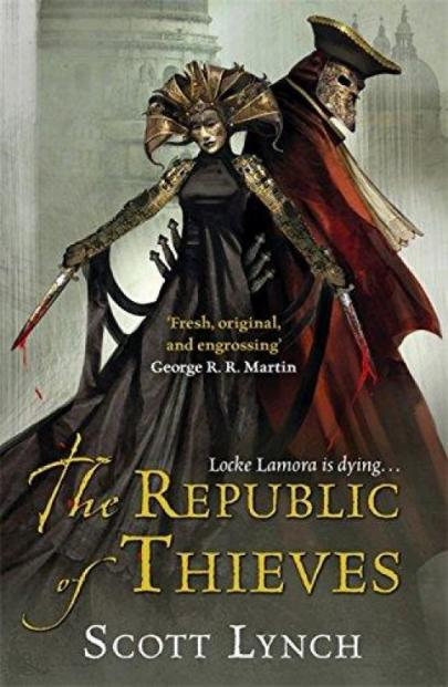 Book cover The Republic of Thieves