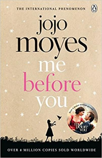 Book cover Me before you