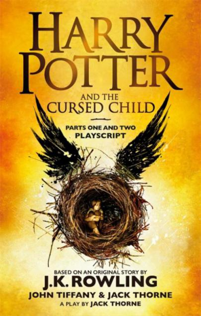 Book cover Harry Potter and the cursed child