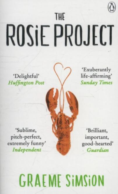 Book cover The Rosie Project