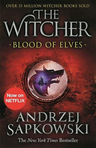 Book cover Blood of elves