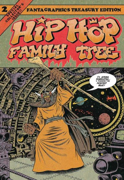 Book cover HIP HOP FAMILY TREE 02