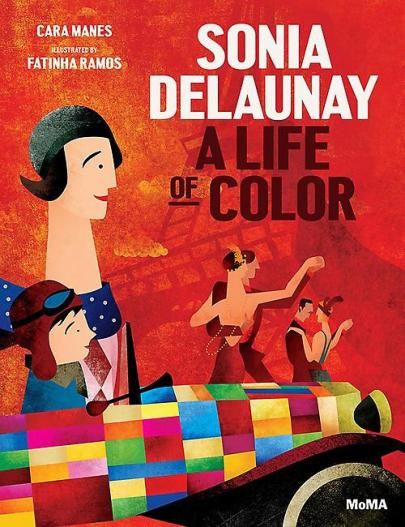Book cover Sonia Delaunay