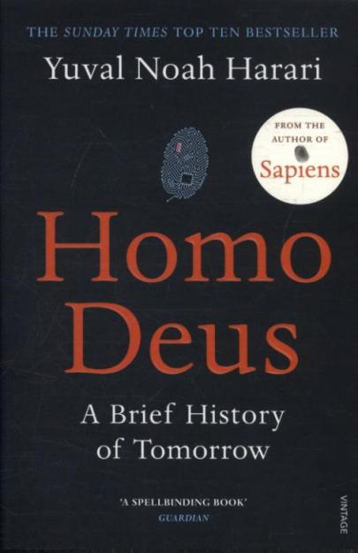 Book cover Homo Deus: A Brief History of Tomorrow