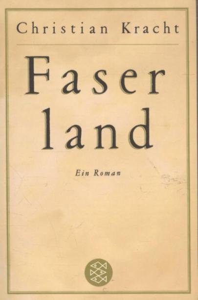 Book cover Faserland