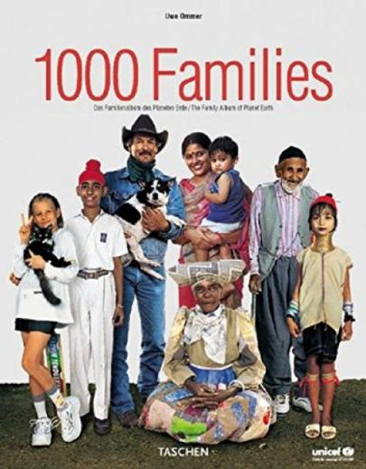 Book cover 1000 Families