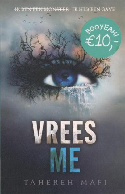 Book cover Vrees me