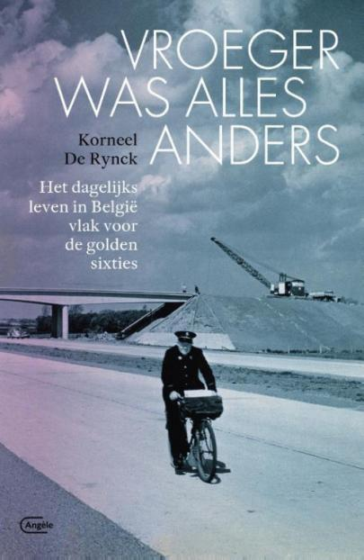 Book cover Vroeger was alles anders