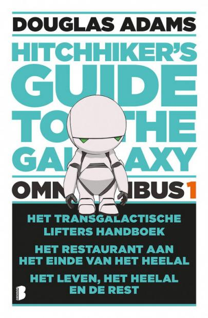 Book cover Hitchhiker's Guide to the Galaxy