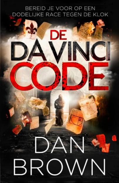 Book cover De Da Vinci code