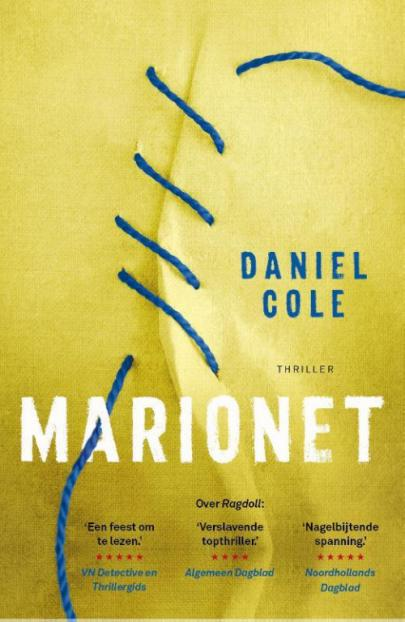 Book cover Marionet
