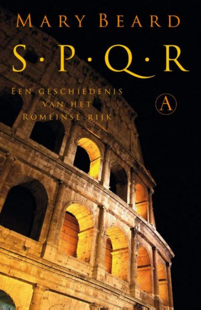 Book cover SPQR