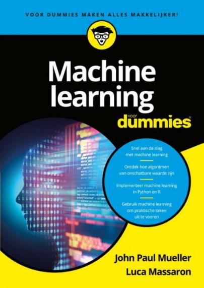 Book cover Machine Learning voor Dummies