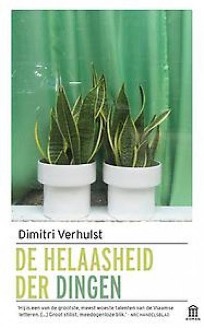 Book cover De helaasheid der dingen