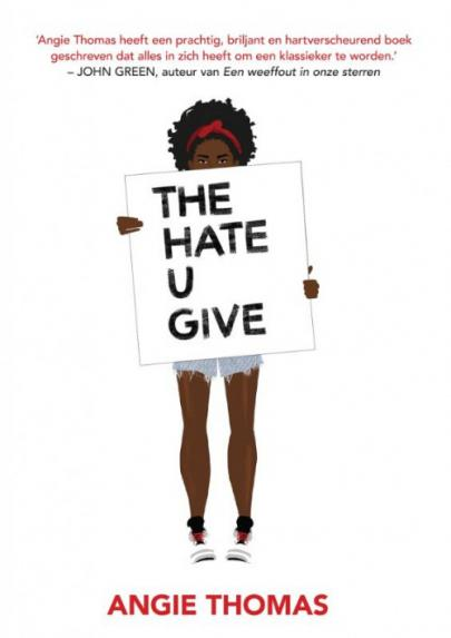 Book cover The Hate U Give