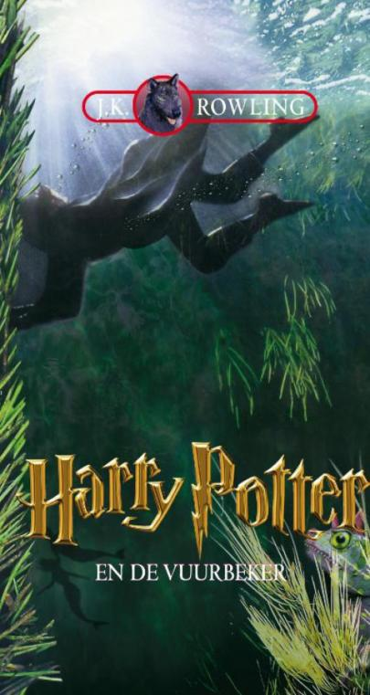 Book cover Harry Potter en de vuurbeker