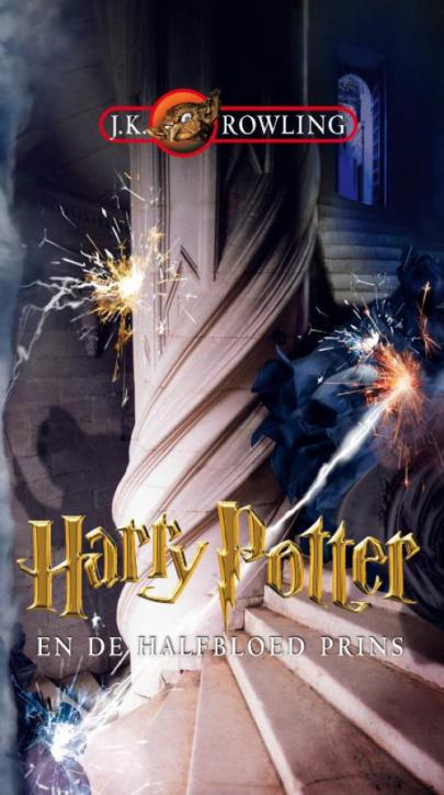 Book cover Harry Potter en de halfbloed prins