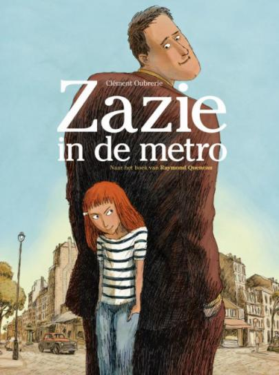 Book cover Zazie in de metro