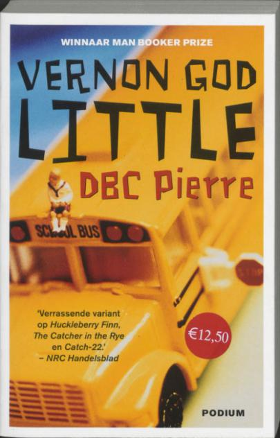 Book cover Vernon God Little