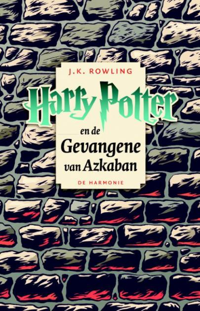 Book cover Harry Potter en de gevangene van Azkaban