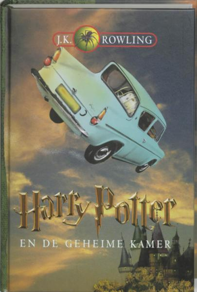 Book cover Harry Potter en de geheime kamer