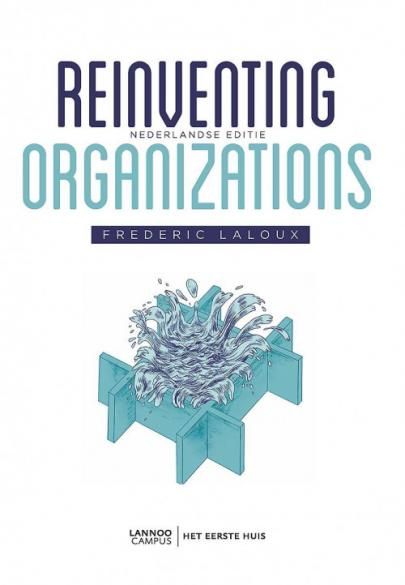 Book cover Reinventing organizations