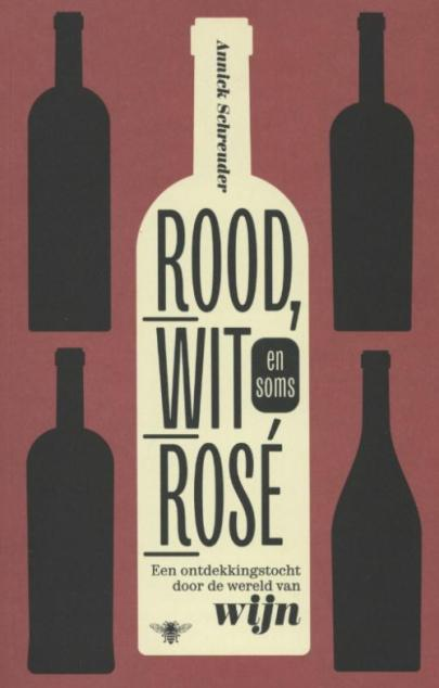 Book cover Rood, wit en soms rose