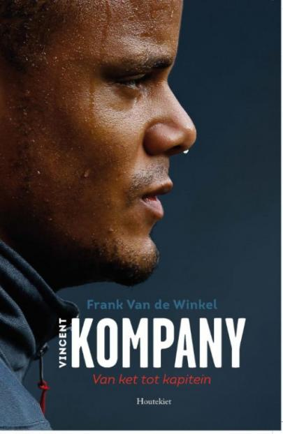 Book cover Vincent Kompany