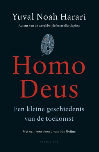 Book cover Homo Deus