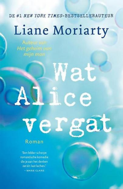 Book cover Wat Alice vergat