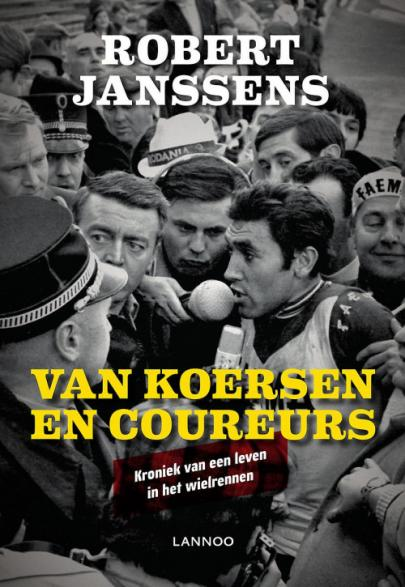 Book cover Van koersen en coureurs