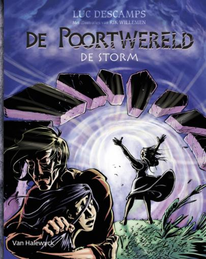 Book cover De poortwereld 1: De storm