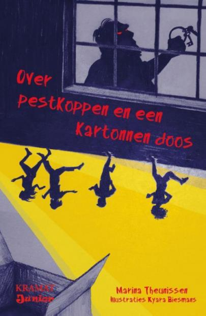 Book cover Over pestkoppen en een kartonnen doos