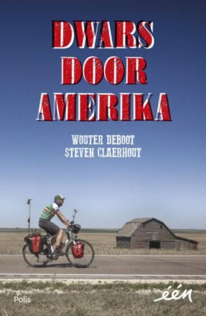 Book cover Dwars door Amerika